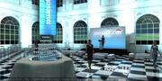 Museu do Mali dentro para eventos 3d model