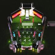 Auvent pour événements de 50x30m pour bus 3d model