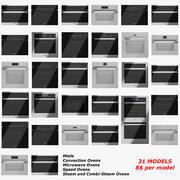 Miele Oven Appliance 3d model