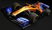 F1 McLaren MCL34 2019 3d model