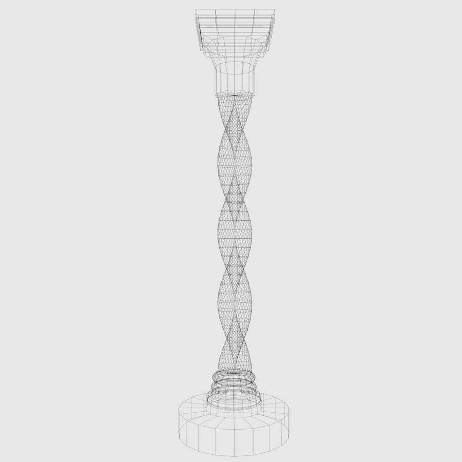 Column-1 royalty-free 3d model - Preview no. 3