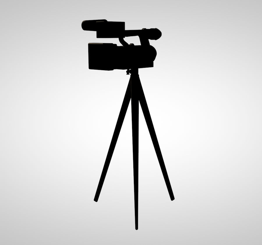 cámara royalty-free modelo 3d - Preview no. 4