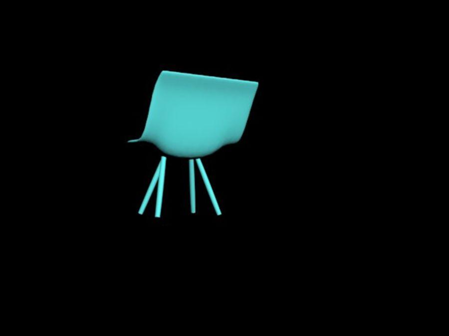 高聚3D椅 royalty-free 3d model - Preview no. 5