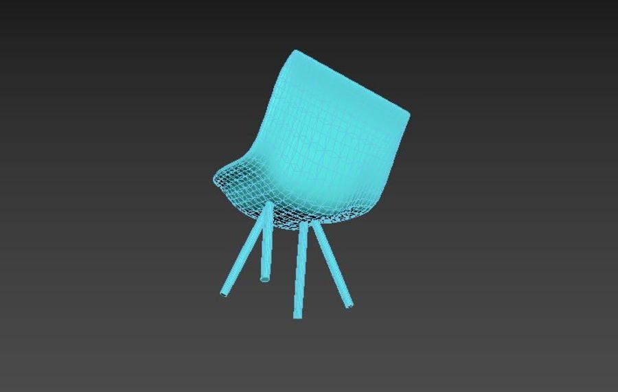 高聚3D椅 royalty-free 3d model - Preview no. 8