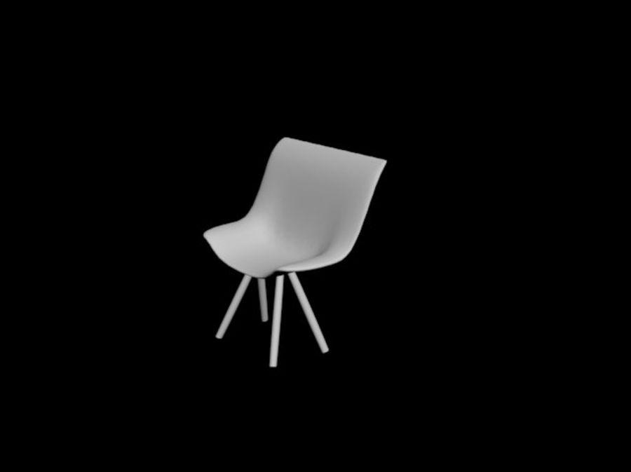 高聚3D椅 royalty-free 3d model - Preview no. 4