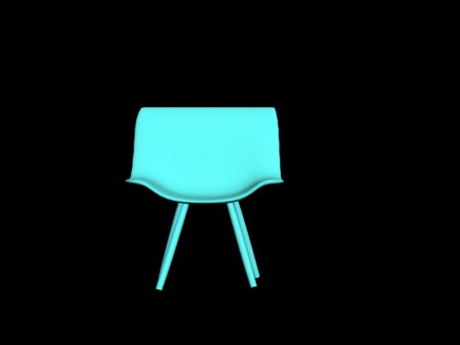 高聚3D椅 royalty-free 3d model - Preview no. 3