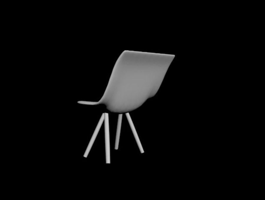 高聚3D椅 royalty-free 3d model - Preview no. 6