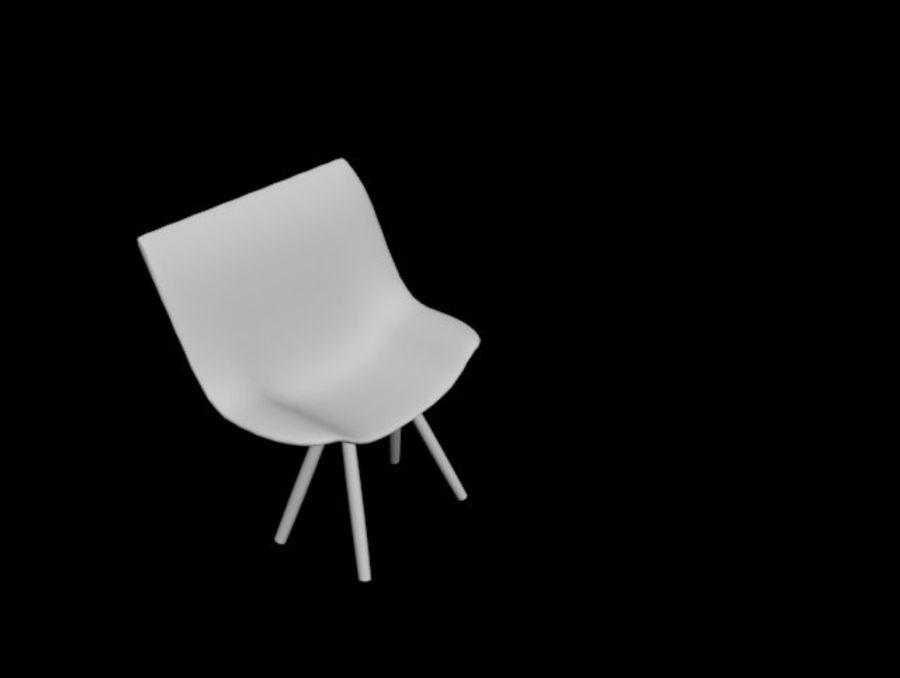 高聚3D椅 royalty-free 3d model - Preview no. 1