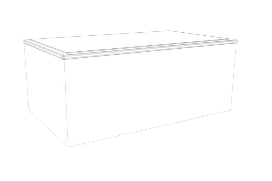 biurko royalty-free 3d model - Preview no. 2