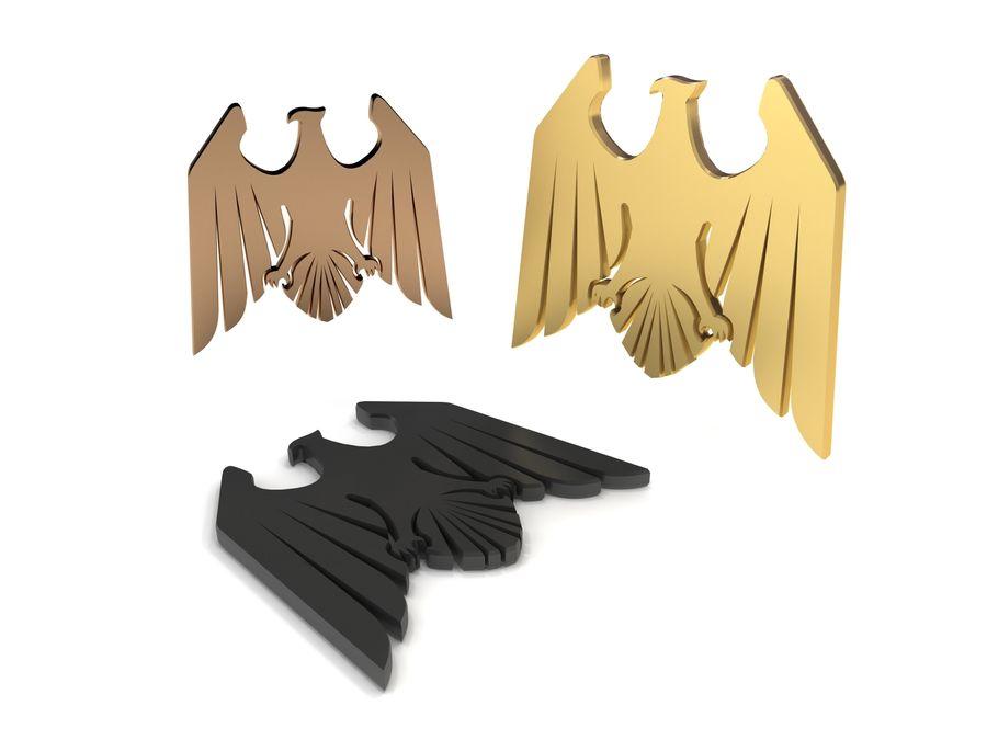 Aquila royalty-free 3d model - Preview no. 1