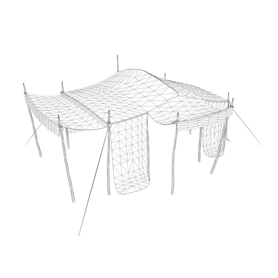 tente (1) royalty-free 3d model - Preview no. 13