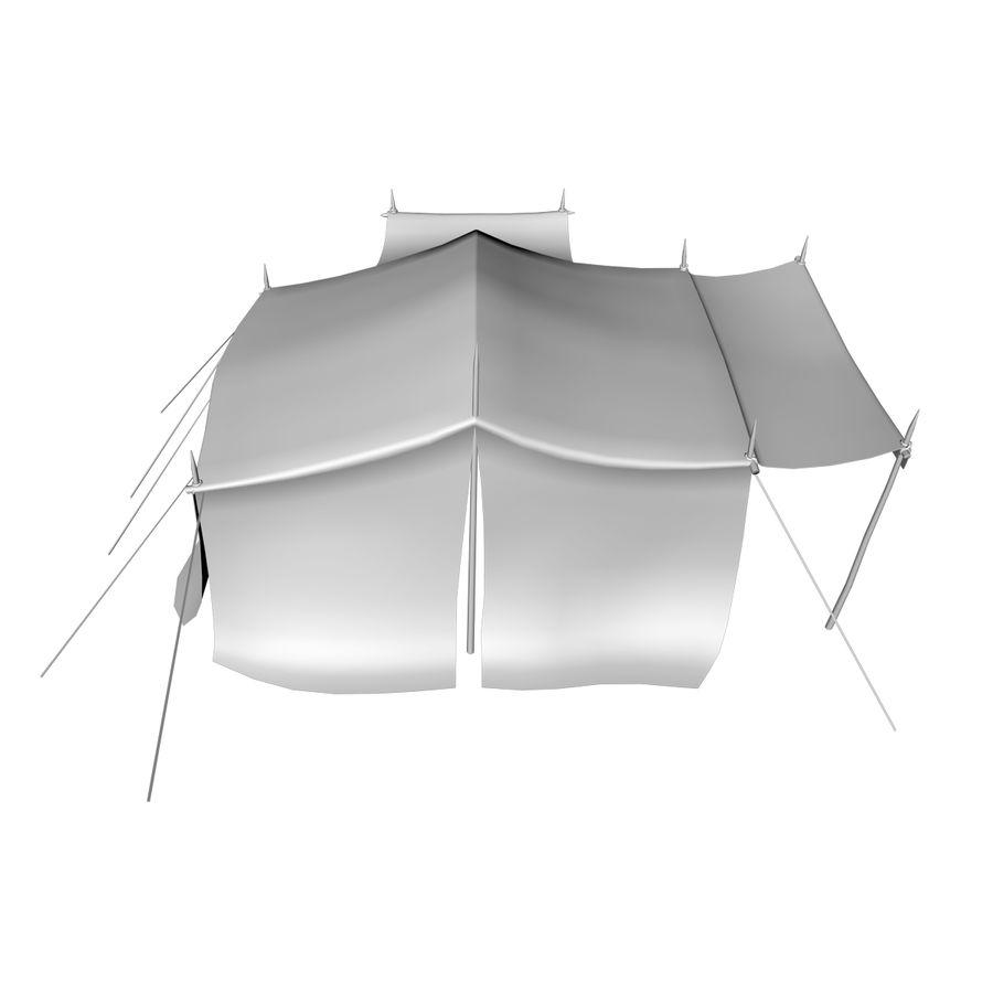 tente (1) royalty-free 3d model - Preview no. 18