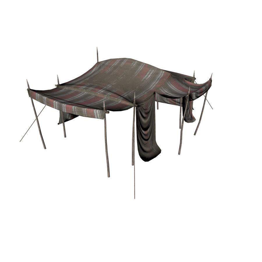 tente (1) royalty-free 3d model - Preview no. 8