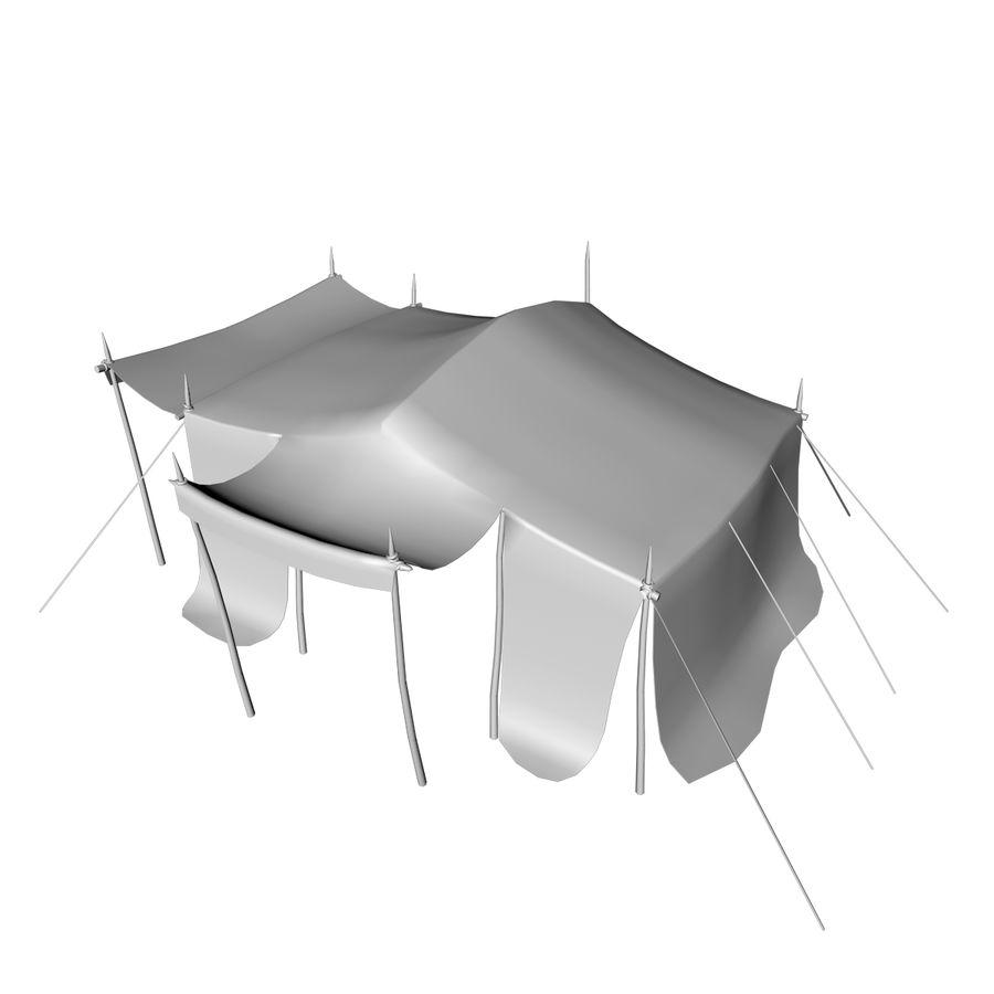 tente (1) royalty-free 3d model - Preview no. 16
