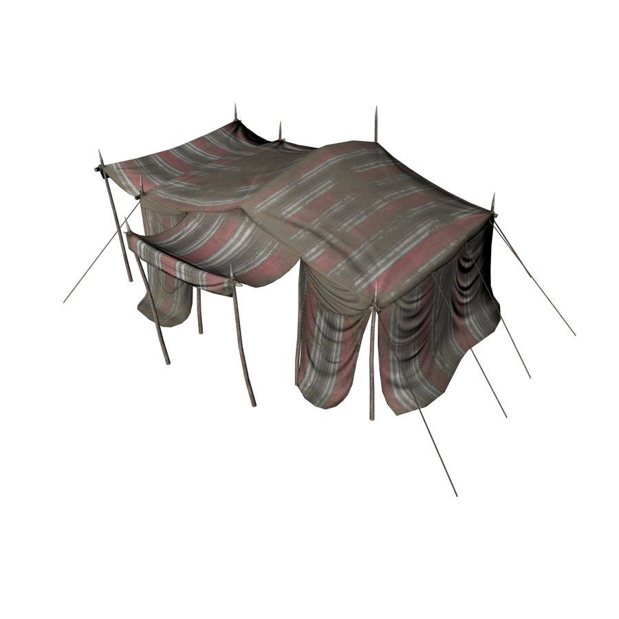 tente (1) royalty-free 3d model - Preview no. 5