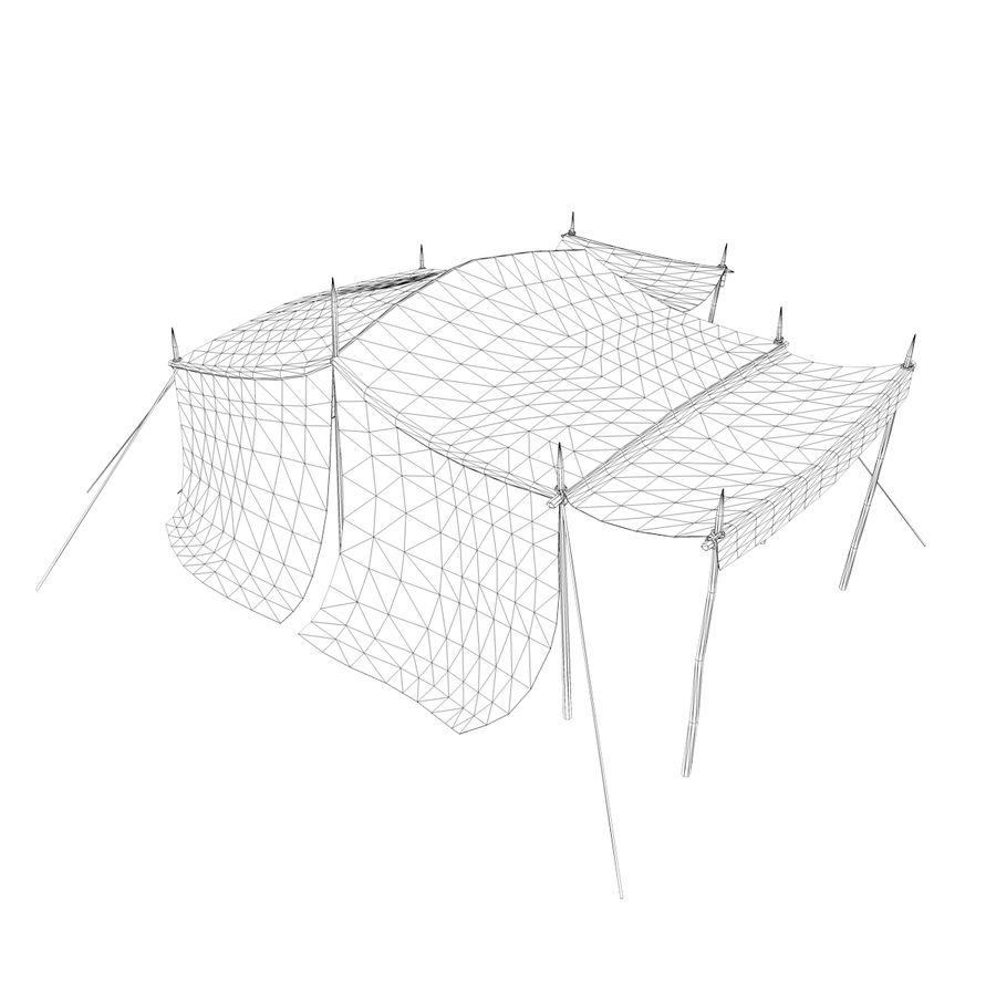 tente (1) royalty-free 3d model - Preview no. 11