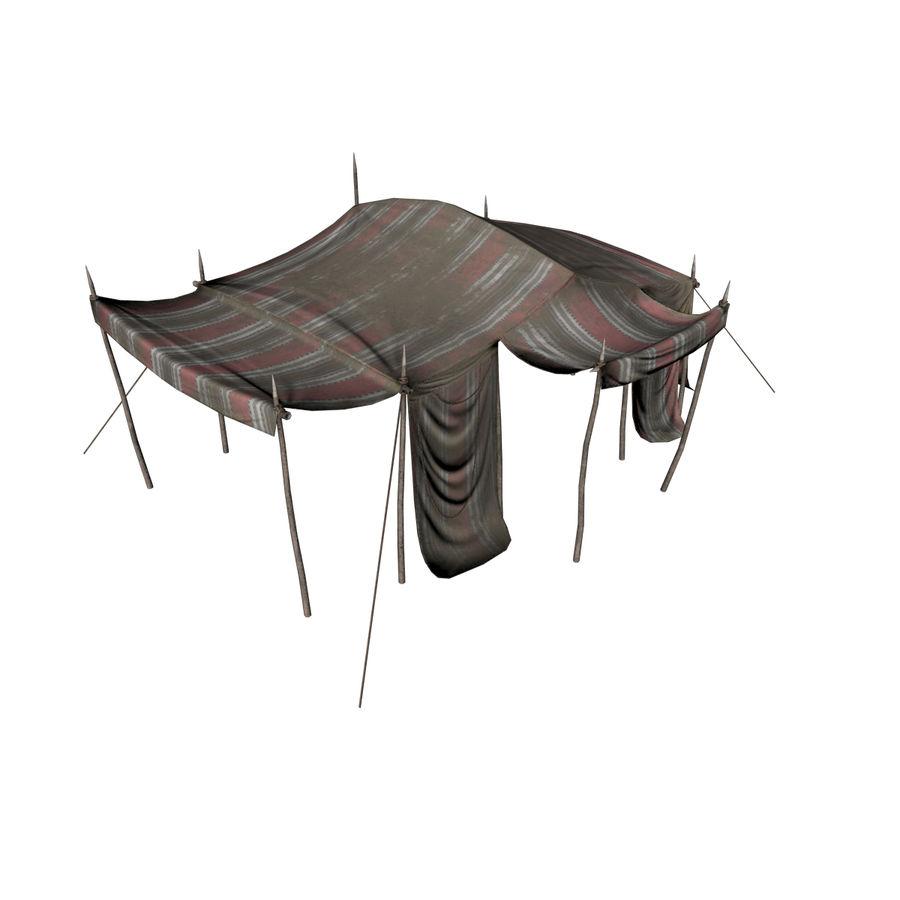tente (1) royalty-free 3d model - Preview no. 4