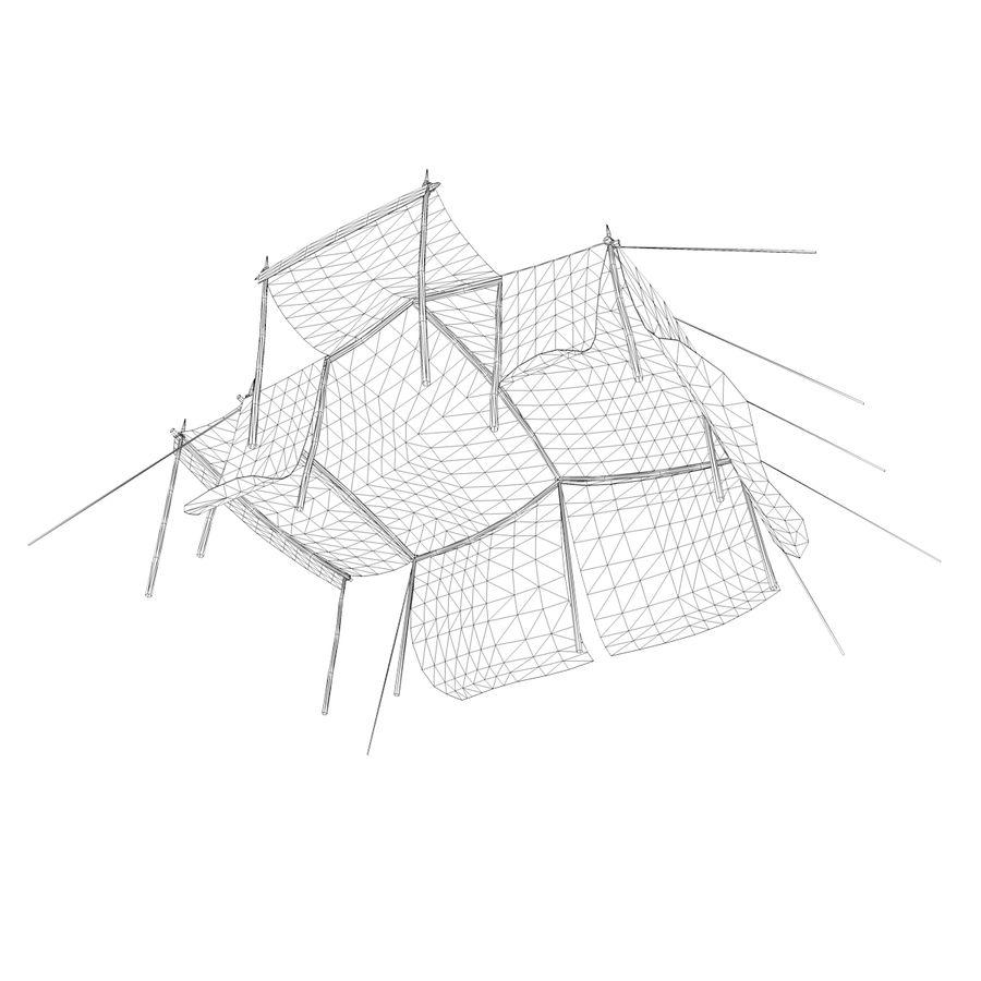 tente (1) royalty-free 3d model - Preview no. 15