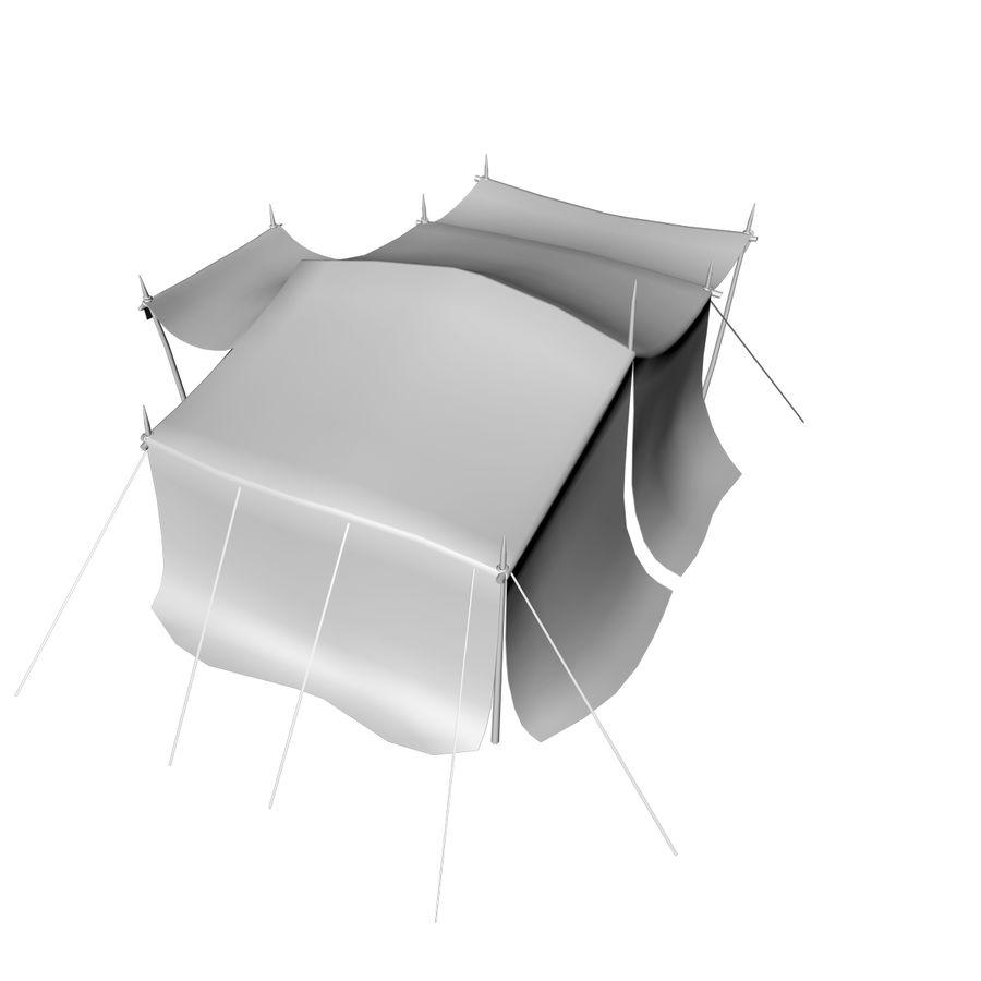 tente (1) royalty-free 3d model - Preview no. 17