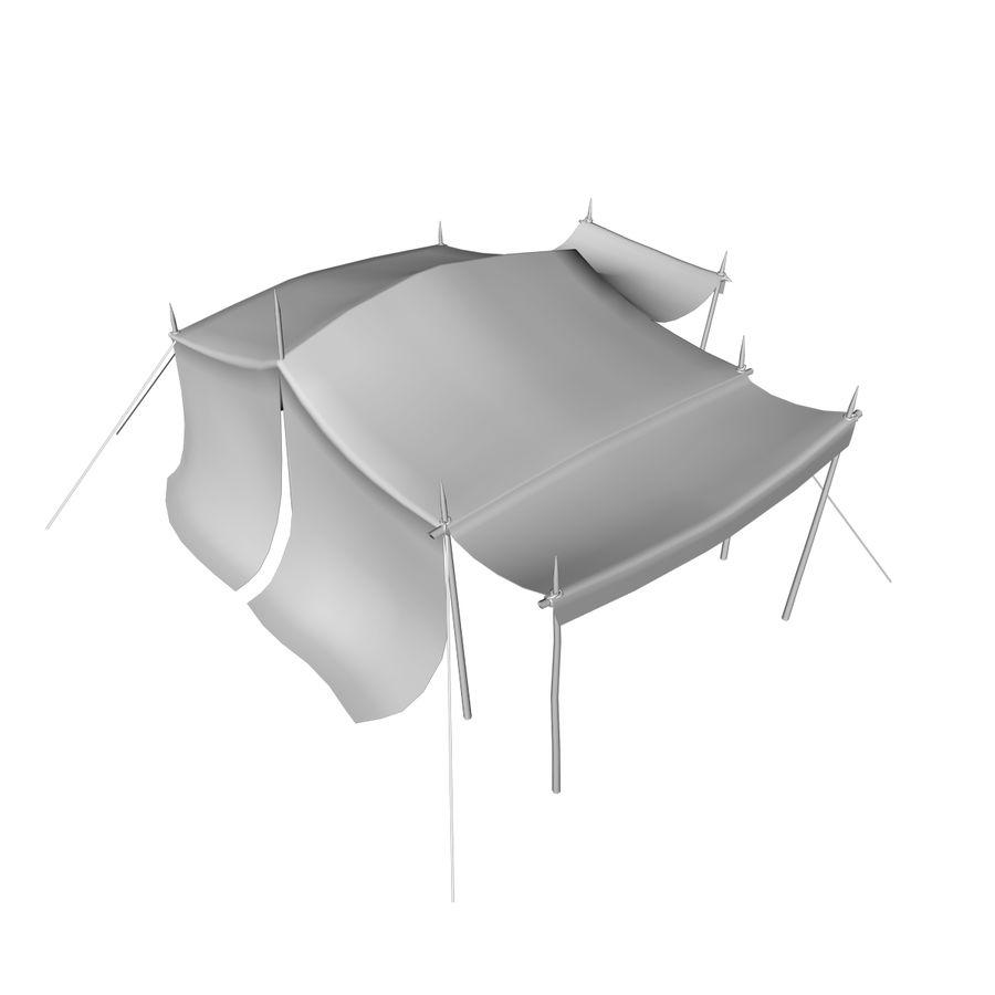 tente (1) royalty-free 3d model - Preview no. 19
