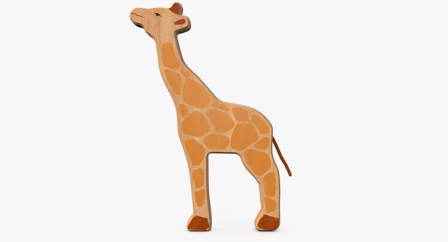 Animales de juguete de madera royalty-free modelo 3d - Preview no. 7