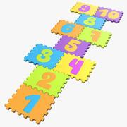 Hopscotch Puzzle 3d model