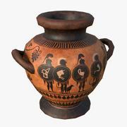 ギリシャのスタノスの花瓶 3d model