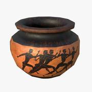 Griechische Lebes Vase 3d model