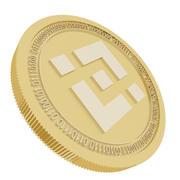 Binanceゴールドコイン 3d model
