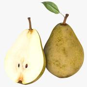 Realistic Pear Fruit 3d model