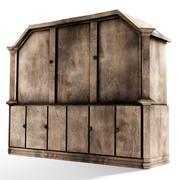 封闭柜子-维多利亚时代的风格 3d model