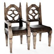 餐椅-维多利亚时代的风格 3d model