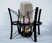 Newmann Vintage Retro Microphone 3d model