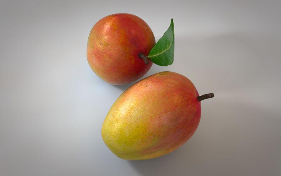 Mango royalty-free 3d model - Preview no. 3