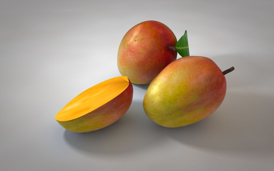 Mango royalty-free 3d model - Preview no. 6