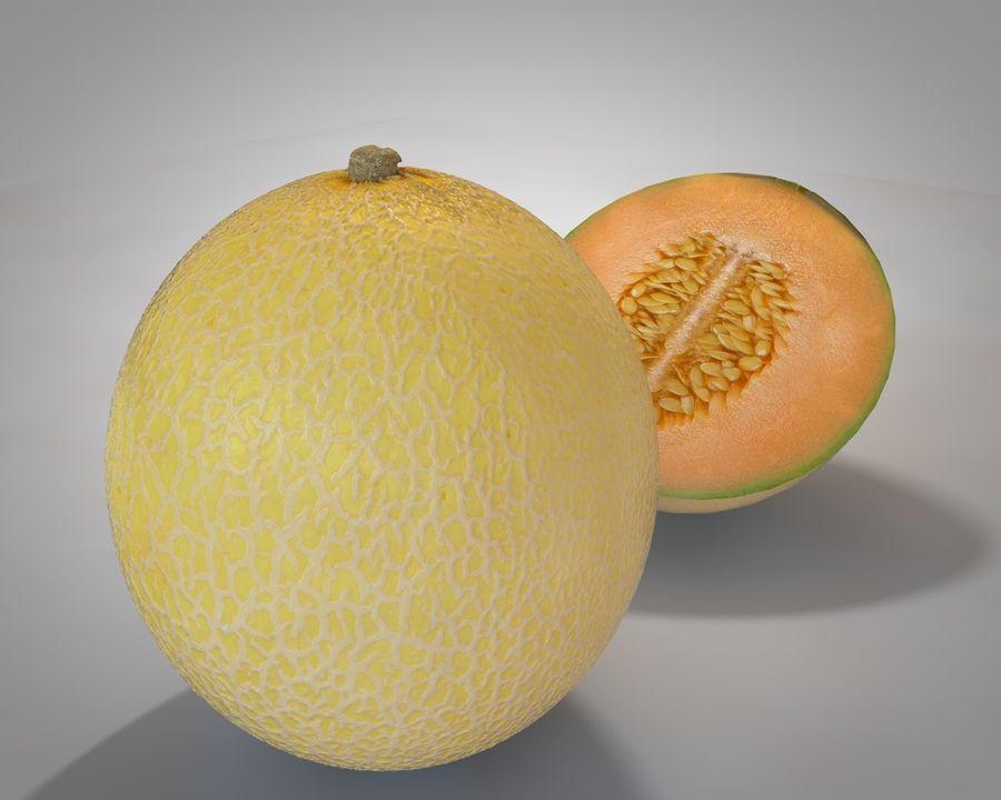 Melon royalty-free 3d model - Preview no. 2