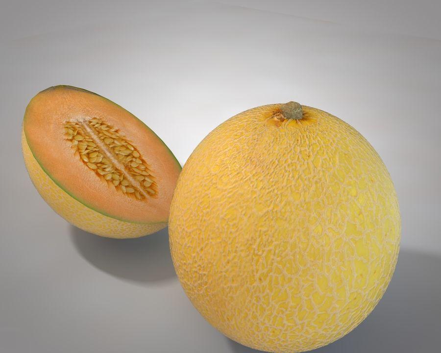 Melon royalty-free 3d model - Preview no. 3