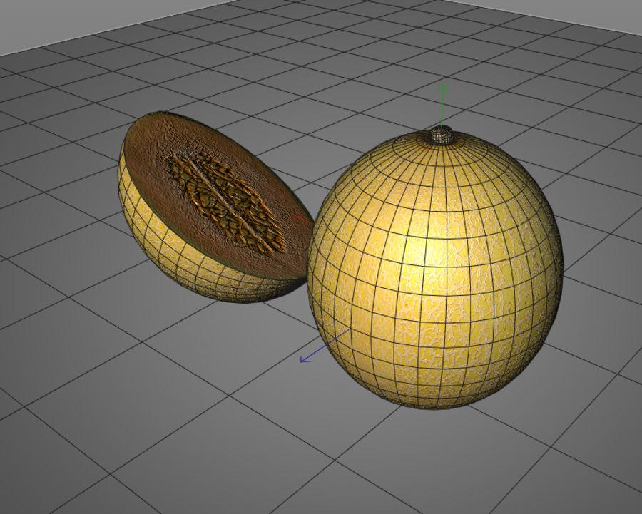 Melon royalty-free 3d model - Preview no. 6