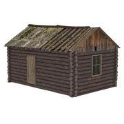 버려진 된 집 3d model