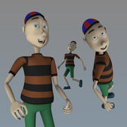 Chico para animacion modelo 3d