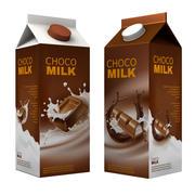 Milk Chocolate Package 3d model