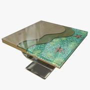 Epoxy-Tisch 3d model