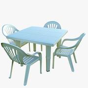 Plastikowy Stół 3d model