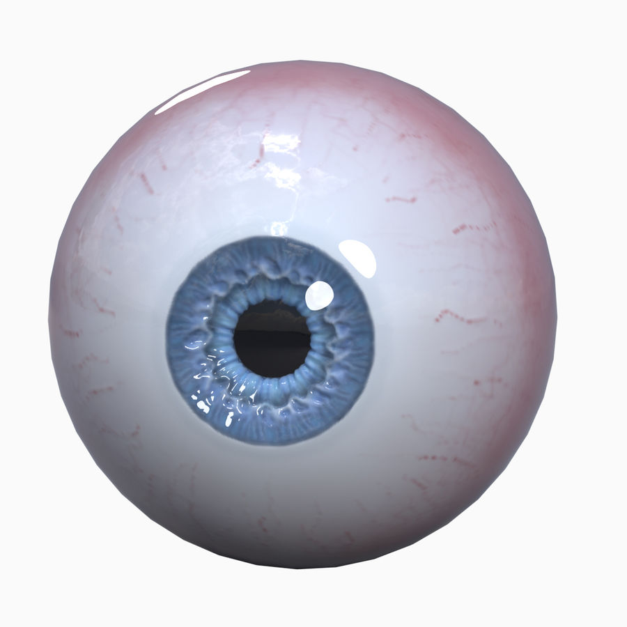 eyeball royalty-free 3d model - Preview no. 1