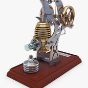 Stirling Engine v 2 3d model