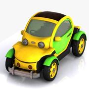 Toon Petite Voiture 3d model