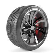 Wheel Car 3d model