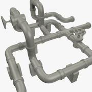 Rörsystem V1 3d model