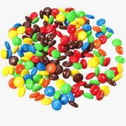 M et MS Candy 3d model