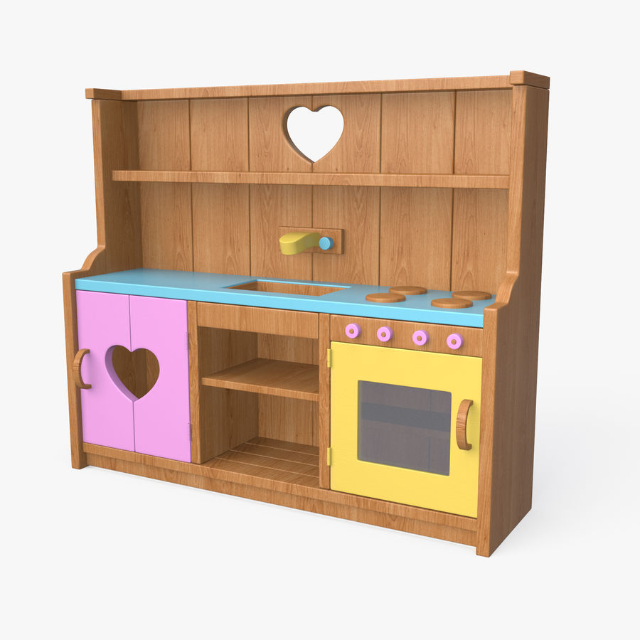 Kitchen Toy royalty-free 3d model - Preview no. 1